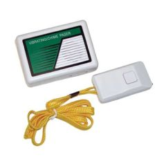 Safeguard Marketing Co. Vibrating/Chime Receiver with Push Button Transmitter