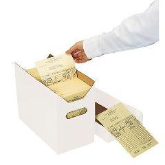 Patterson Office Supplies Ledger Card Storage Box