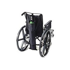 Homecare Wheelchair Single Oxygen Tank Carrier