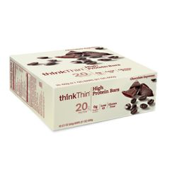 Think Products Think Thin Bar - Chocolate Espresso