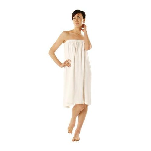 "Canyon Rose Terry Spa Wrap 1 Size 33"" White Model 348 0003"
