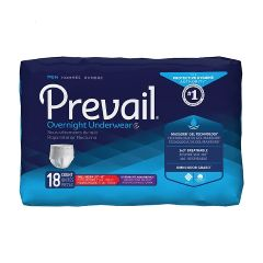 Prevail - First Quality Prevail Protective Underwear for Men - Overnight Protection, Max Absorbency