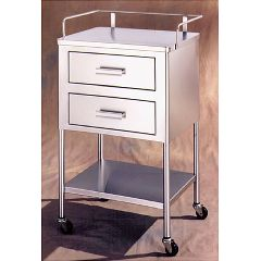 AliMed UMF Utility Cart, Shelf & One Drawer, 45 lbs.