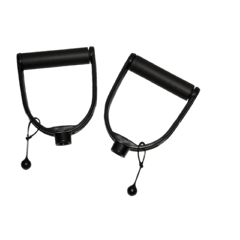 Cando Exercise Band - Accessory - Holdrite Padded Handles - 1 Pair
