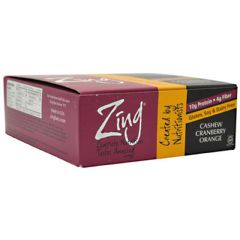 Zing Zing Bar - Cashew Cranberry Orange