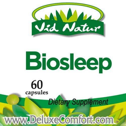 AB Marketers LLC Biosleep Natural Sleep Sedative 400mg  Model BIOS-003-01