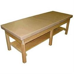 Bailey Manufacturing Bariatric Treatment Table With Shelf 1000Lb Cap.