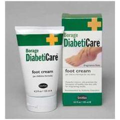 Borage DiabetiCare Foot Cream - 4.2 oz Tube