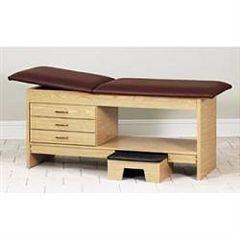 Clinton Industries Clinton Laminate Treatment Table With Stool