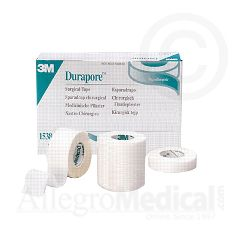 "Durapore 3M Durapore Surgical Tape 3"" wide"