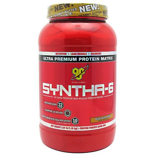 BSN Syntha-6 - Peanut Butter Cookie 2.91 lbs. Model 171 584141 01