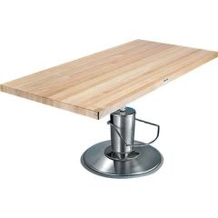 Midland Rectangular Butcher-Block Work Table