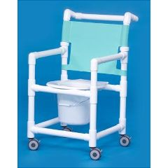 Slant Seat Shower Chair Commode