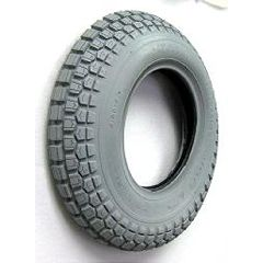 "New Solutions Gray Pneumatic Ability Tire - 16 x 4"" (400 x 8)"