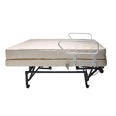 Flex-A-Bed Hi-Low Adjustable Bed with Wireless Remote and Inner Spring Mattress