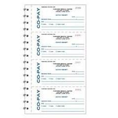 Patterson Office Supplies Receipt Book 4 Per Page, 200/Book