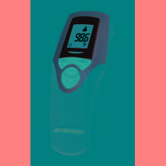Veridian Touch-Free Infrared Forehead Thermometer