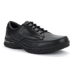 Oasis Men's  Bodin Black Diabetic Shoe