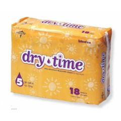 Medline Dry-time Baby Diapers