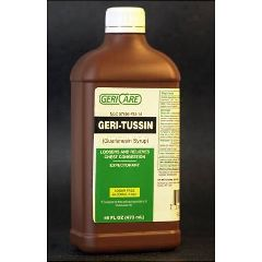 Geri-Care Pharmaceuticals Geri-Tussin Expectorant Liquid 100 mg 16 fl oz
