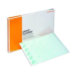 Opsite Flexigrid Transparent Film Dressing - 4 x 4(3/4)""
