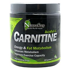 Nutrakey Acetyl L Carnitine Sport Performance Supplement 250g