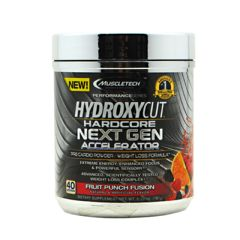 Performance MuscleTech Performance Series Hydroxycut Hardcore NEXT GEN ACCELERATOR - Fruit Punch Fusion