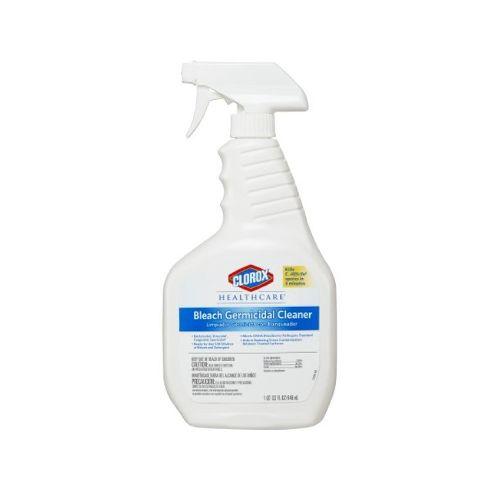 Dispatch Clorox Healthcare® Bleach Germicidal Surface Disinfectant Cleaner, 32oz  Trigger Spray Bottle Model 025 5024