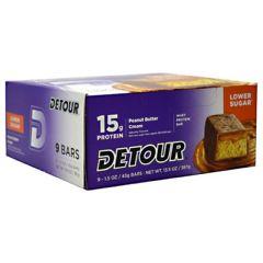 Detour Low Sugar Forward Foods Detour Low Sugar Whey Protein Bar - Peanut Butter Cream