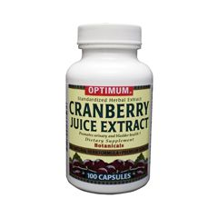 Optimum Cranberry Juice Extract Dietary Supplement