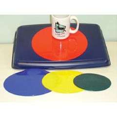 "Dycem Nonslip Matting - Round Pad, 7.5"" Diameter"
