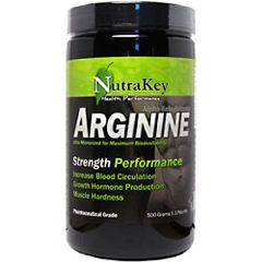 Nutrakey Arginine Strength Performance Supplement 500 gram