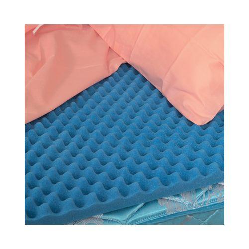 Mabis DMI DMI Convoluted Foam Bed Pad Mattress Topper