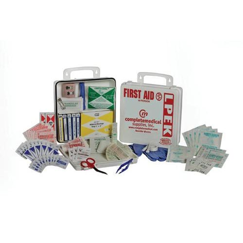 Complete Medical Supplies 50 Person First Aid Kit Model 751 0009