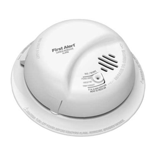 Harris Communications Carbon Monoxide Detector with Battery Backup Model 141 0040