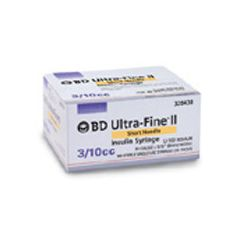 "Ultra-Fine 0.3 mL Insulin Syringe 31g x 5/16"" Ultra-Fine II Needle"