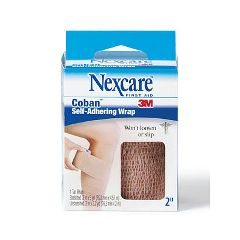 "NEXCARE Coban Self-Adherent Wrap 2"" wide"
