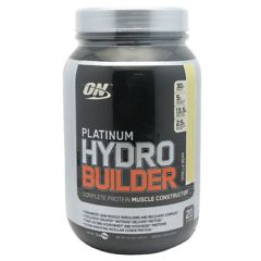 Platinum Optimum Nutrition Platinum Hydrobuilder - Vanilla Bean