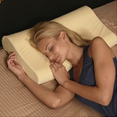 Deluxe Contour Memory Foam Neck Pillow