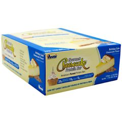 Advance Nutrient Science Advanced Nutrient Science INTL Gourmet Cheesecake Protein Bar - Birthday Cake Cheesecake Flavor