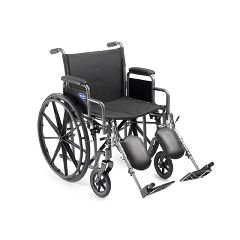 "Invacare Veranda Wheelchair with Elevating Legrests 18""x16"""