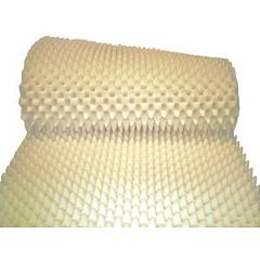 "Egg Crate Style Foam Hospital Bed Pads  Environmentally Friendly Convoluted, 4"" Thickness"