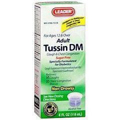 Cardinal Health Leader Tussin DM Liquid Formula