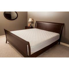 AB Marketers LLC Deluxe 100% Cotton Damask Stripe Mattress Pad