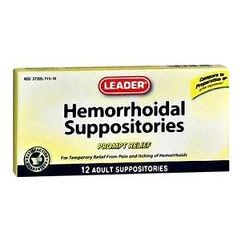 Cardinal Health Hemorrhoidal Suppositories
