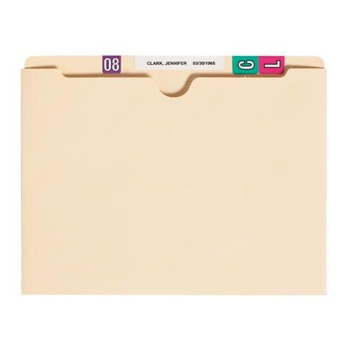 Patterson Office Supplies Manila File Pocket (Non-Expandable), 100/Box Model 787 0302