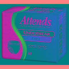 Attends Extra Absorbency Underwear