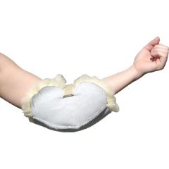 Medical Sheepskin Elbow Protector - Fits Any Size
