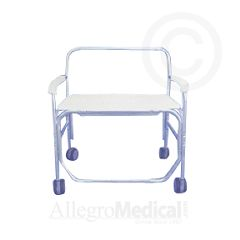 ConvaQuip Bariatric Transport Shower Chair - 650 lb. Capacity