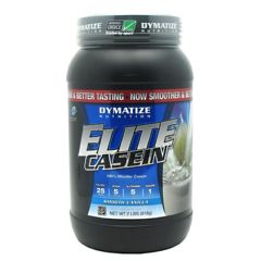 Elite Dymatize Elite Casein - Smooth Vanilla